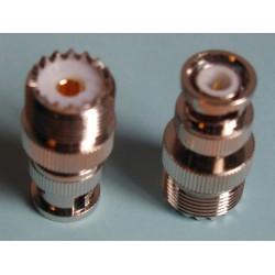 Adaptateur BNC mâle / UHF...