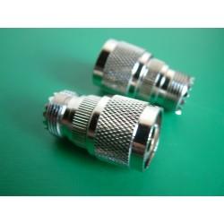 Adaptateur N mâle / UHF...
