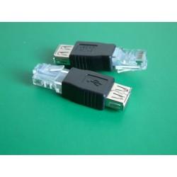 Adaptateur USB femelle /...