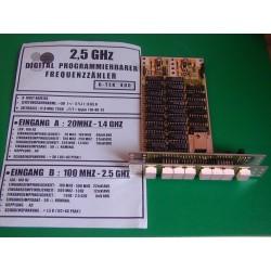 Fréquencemètre 2,5 Ghz