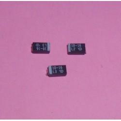 3 x Condensateurs CMS 10 UF...