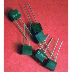2 x capacités 196 pf / 250V