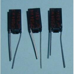 3 x capacités 536 pf / 63 V