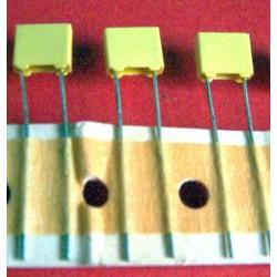 3 x capacités 100 nf / 63 V