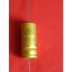 Condensateur 1000 uf / 40 V
