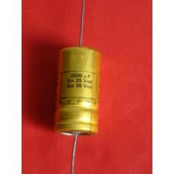 Condensateur  2200 uf / 25 V
